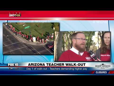LIVE: Full Coverage: Arizona teachers walk-out demanding higher pay