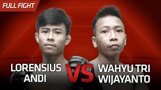 [HD] Lorensius Andi vs Wahyu Tri Wijayanto || One Pride Pro Never Quit #28