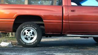 97 dodge ram 1500 ss t flowmaster super 10 new tips side exhaust