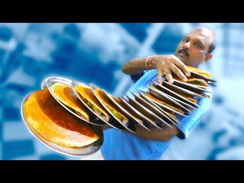 GLORIOUS Southern INDIAN Breakfast at Vidyarthi Bhavan + Flower Market Tour | Bengaluru, India