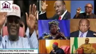Who Should Atiku Pick Among These Igbos As Running Mate For 2019 Election