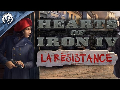 Hearts of Iron 4: La Resistance announced, adds spies and commandos | PC Gamer