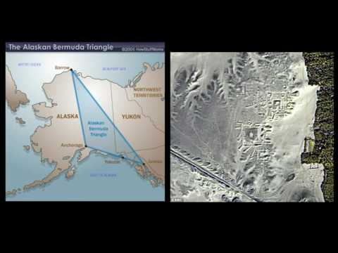 Ancient Underground Alaska Dark Pyramid inside AlaskaTriangle...