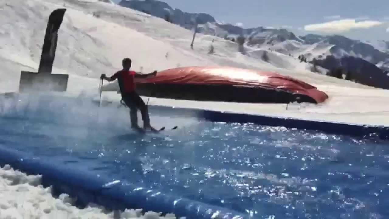 les arcs skiing waterslide 2015 wins fails youtube. Black Bedroom Furniture Sets. Home Design Ideas