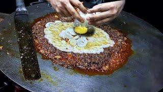 Delicious Scrambled Egg Bagdadi   Egg Street Food   Indian Street Food