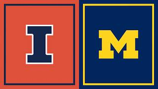 First Half Highlights: Michigan at Illinois | B1G Basketball