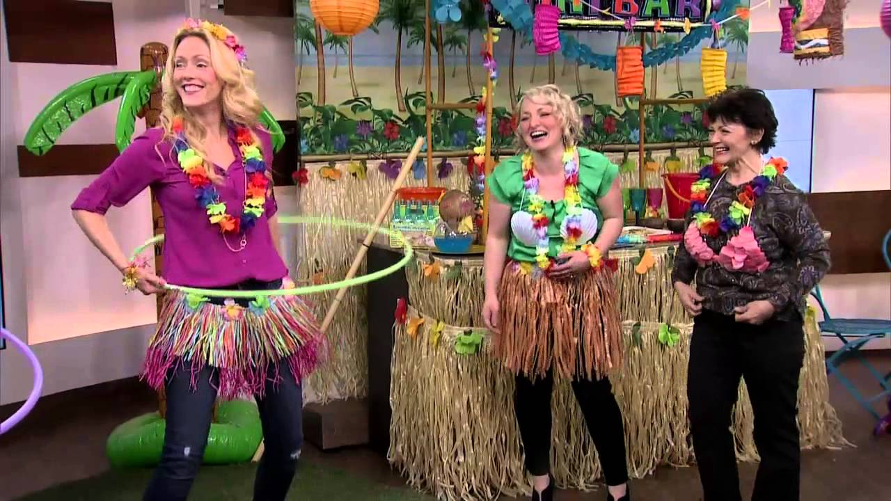 Hawaiian Christmas Party Ideas Part - 26: Fun Games For Your Hawaiian Party - YouTube