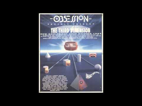 Dave Angel @ Obsession - 3rd Dimension, Westpoint nr. Exeter, U.K. 30.10.1992