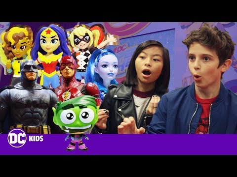 TEEN TITANS GO!, FUNKO and DC SUPER HERO GIRLS Toy Preview! | DC KIDS SHOW