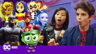 TEEN TITANS GO!, FUNKO and DC SUPER HERO GIRLS Toy Preview! Pt. 2 | DC KIDS SHOW