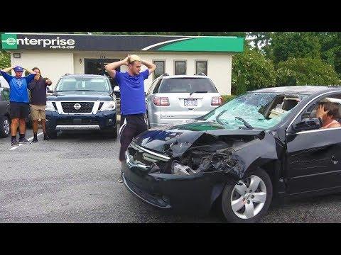 Returning Destroyed Rental Cars Prank