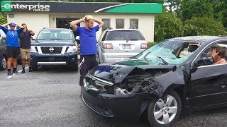 Returning Destroyed Rental Cars Prank