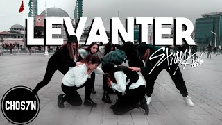[KPOP IN PUBLIC TURKEY] STRAY KIDS - LEVANTER (바람) Dance Cover by CHOS7N