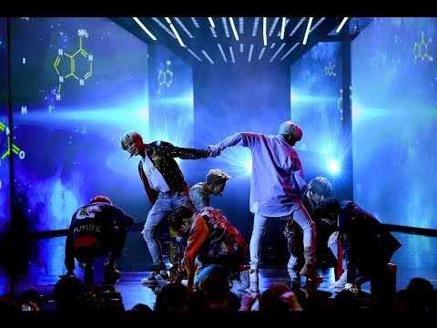 BTS on AMAs Performing DNA