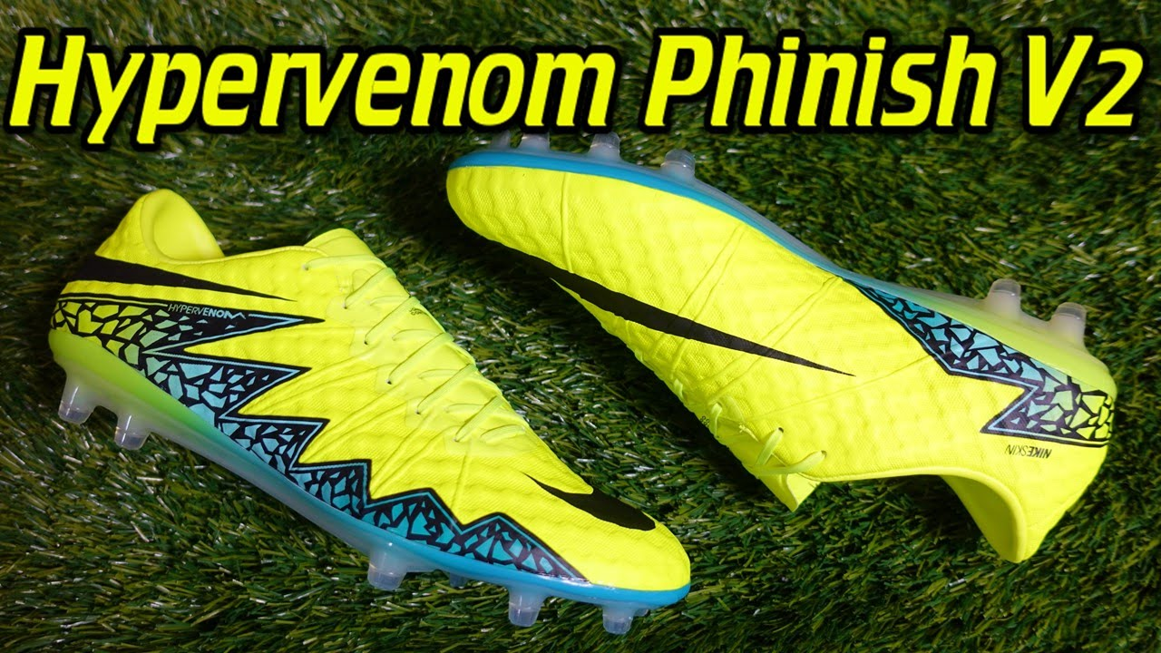 Nike Hypervenom Phinish v2 (Spark Brilliance Pack) - Review + On Feet -  YouTube 0ec070a2d288
