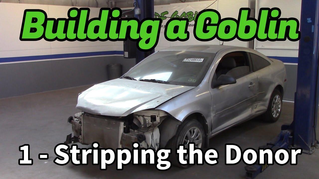 Building A Goblin 1 Stripping The Donor Car Df Kit Car