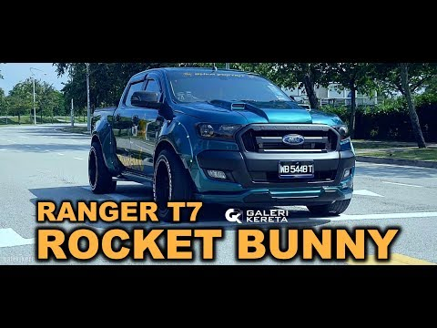 FORD RANGER ROCKET BUNNY by SHAM BODYKIT