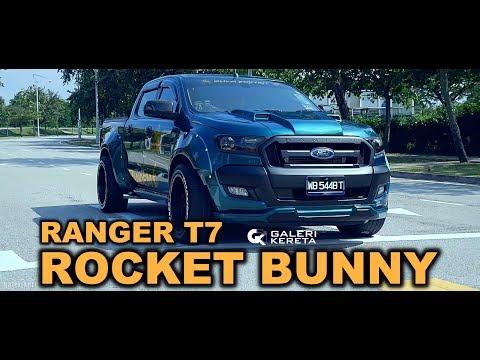FORD RANGER ROCKET BUNNY By SHAM BODYKIT