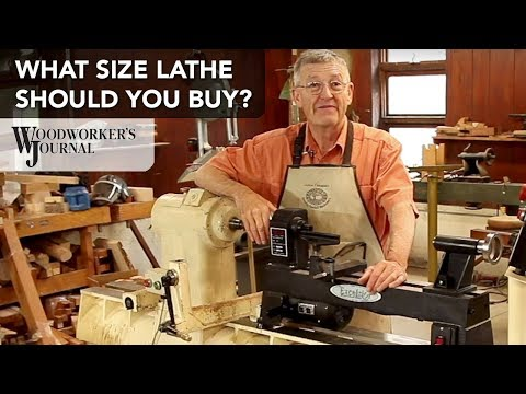 What size Lathe Should You Buy?