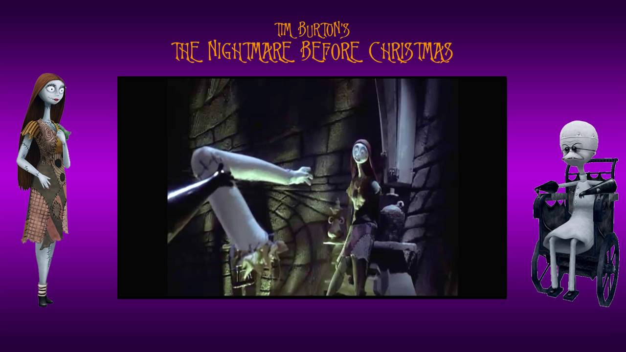 The Nightmare Before Christmas- \