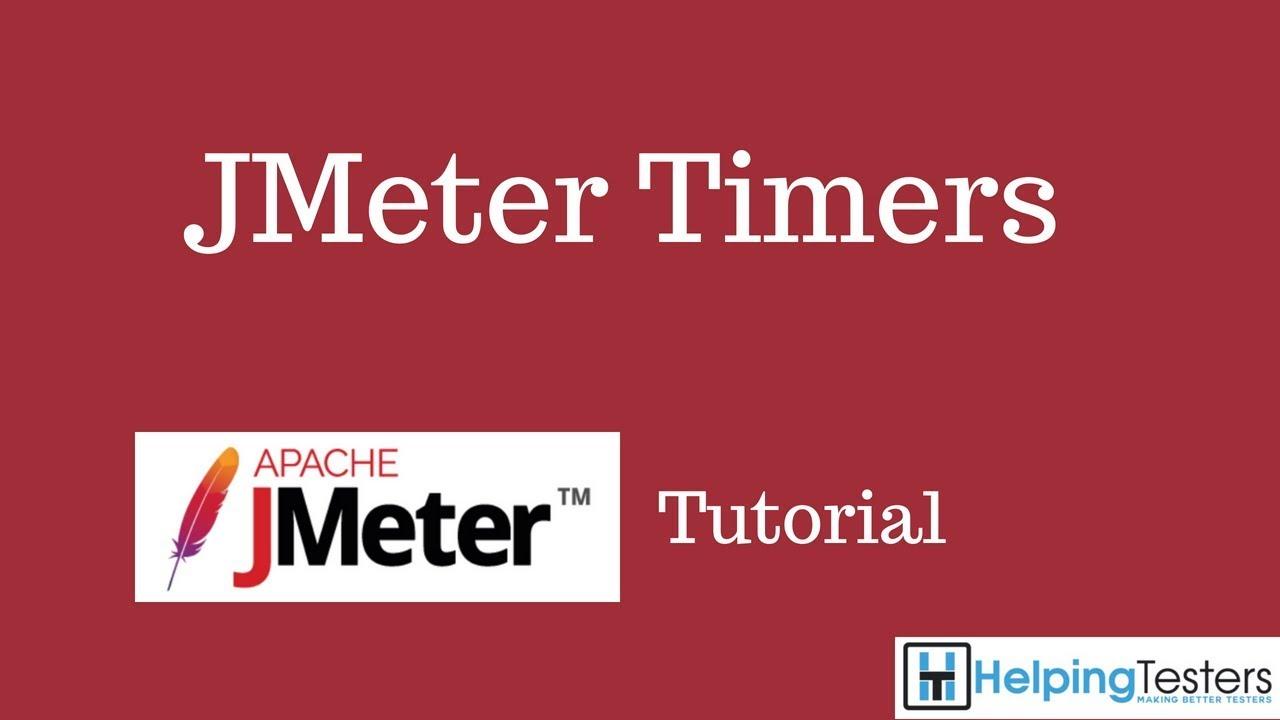 JMeter Timers - JMeter Tutorial 8 - YouTube