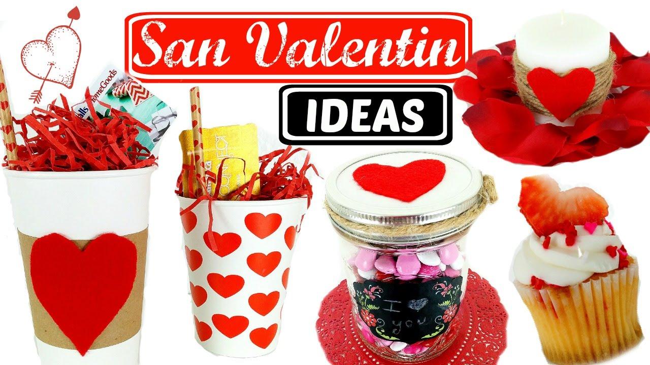Diy ideas para san valentin faciles y bonitas hola soy cat youtube - Ideas para sanvalentin ...