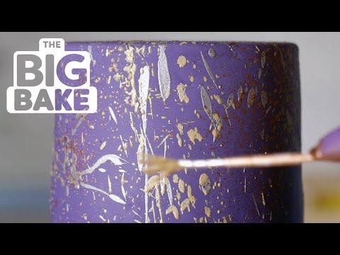 Splatter Cake Technique With Ron Ben Israel