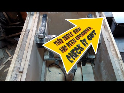 DIY Table Saw V.4 Lifting System