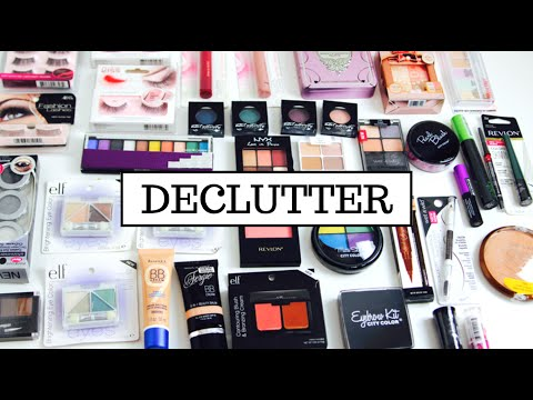 Makeup Collection DECLUTTER: GIVEAWAY! - 동영상