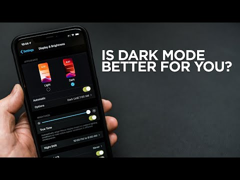 Is Dark Mode Better For You?