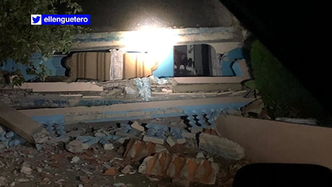Puerto Rico earthquake: 5.5 temblor causes damage in city of Ponce ...