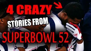 4 CRAZY Stories From Super Bowl 52!!! thumbnail