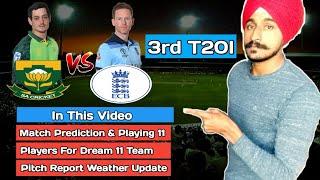 South Africa vs England 3rd T20 2020 | SuperSport Park Centurion Pitch Report | SA vs ENG Dream11