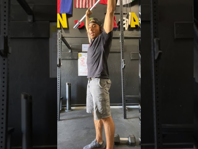 BARBELL STRICT PRESS - FOUNDATIONS