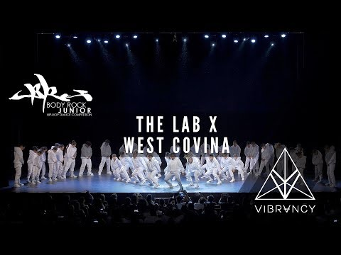[1st Place] The Lab x West Covina | Body Rock Junior 2017 [@VIBRVNCY 4K] #BRJR2017