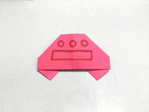 How to make origami paper ufo | Origami / Paper Folding Craft, Videos & Tutorials.