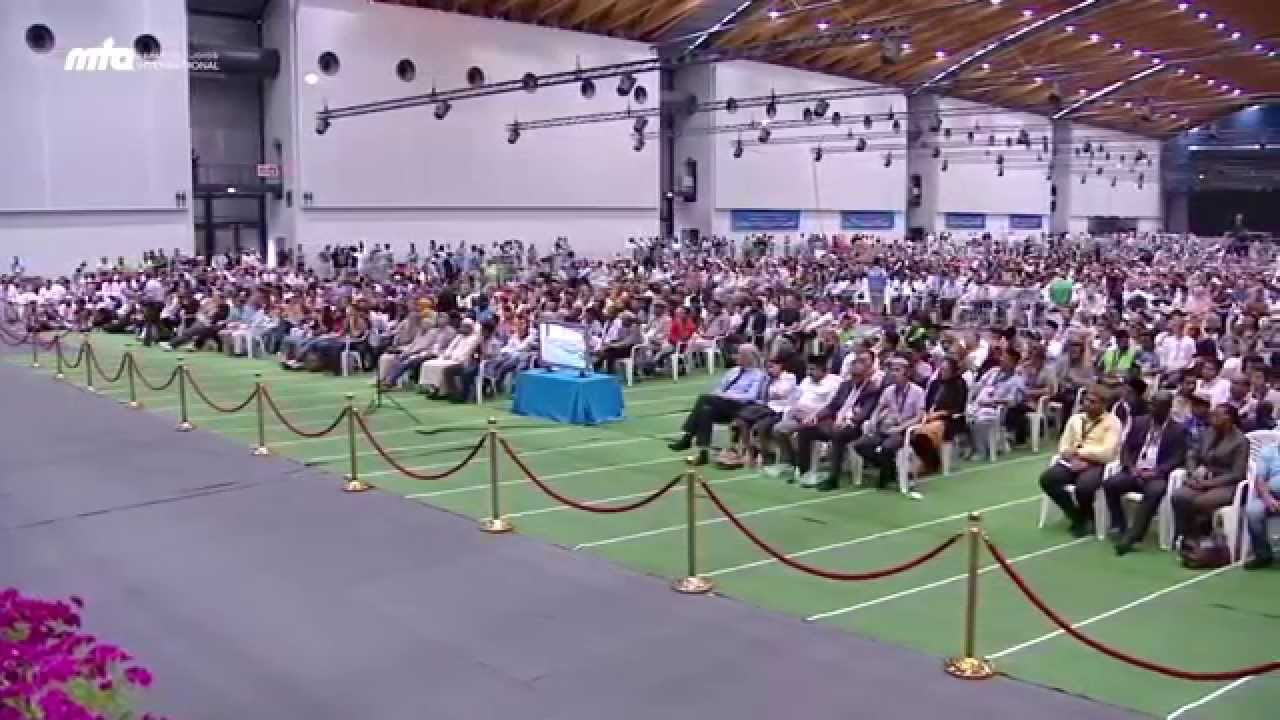 khalifa of islam addresses guests at jalsa salana germany 2015 youtube. Black Bedroom Furniture Sets. Home Design Ideas