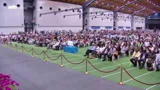 Khalifa of Islam addresses German guests at Jalsa Salana Germany 2015