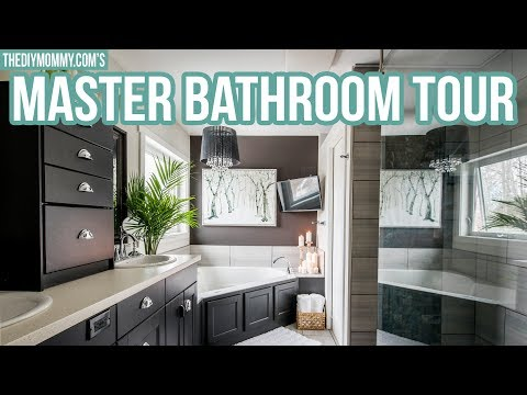 NEW! Rustic Glam Master Bathroom Tour