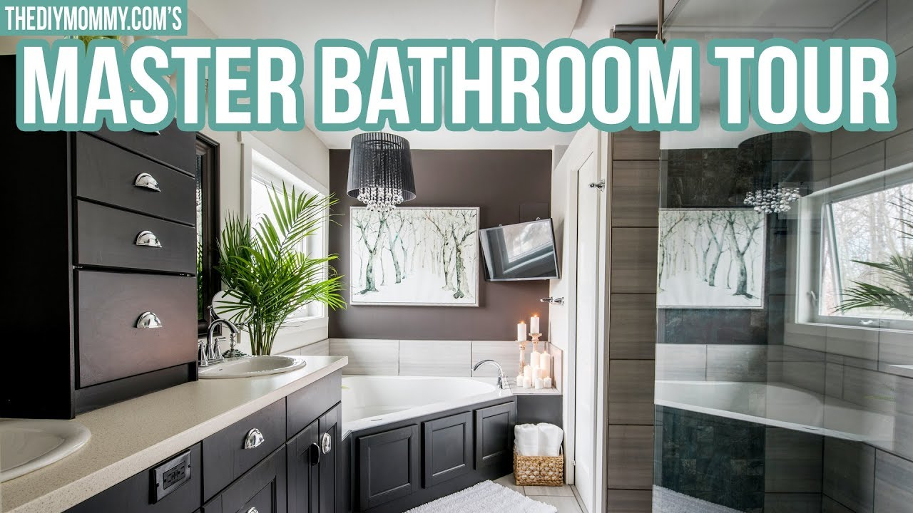 Rustic Glam Master Bathroom Tour