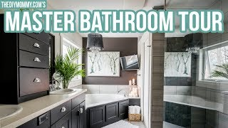 NEW! Rustic Glam Master Bathroom Tour