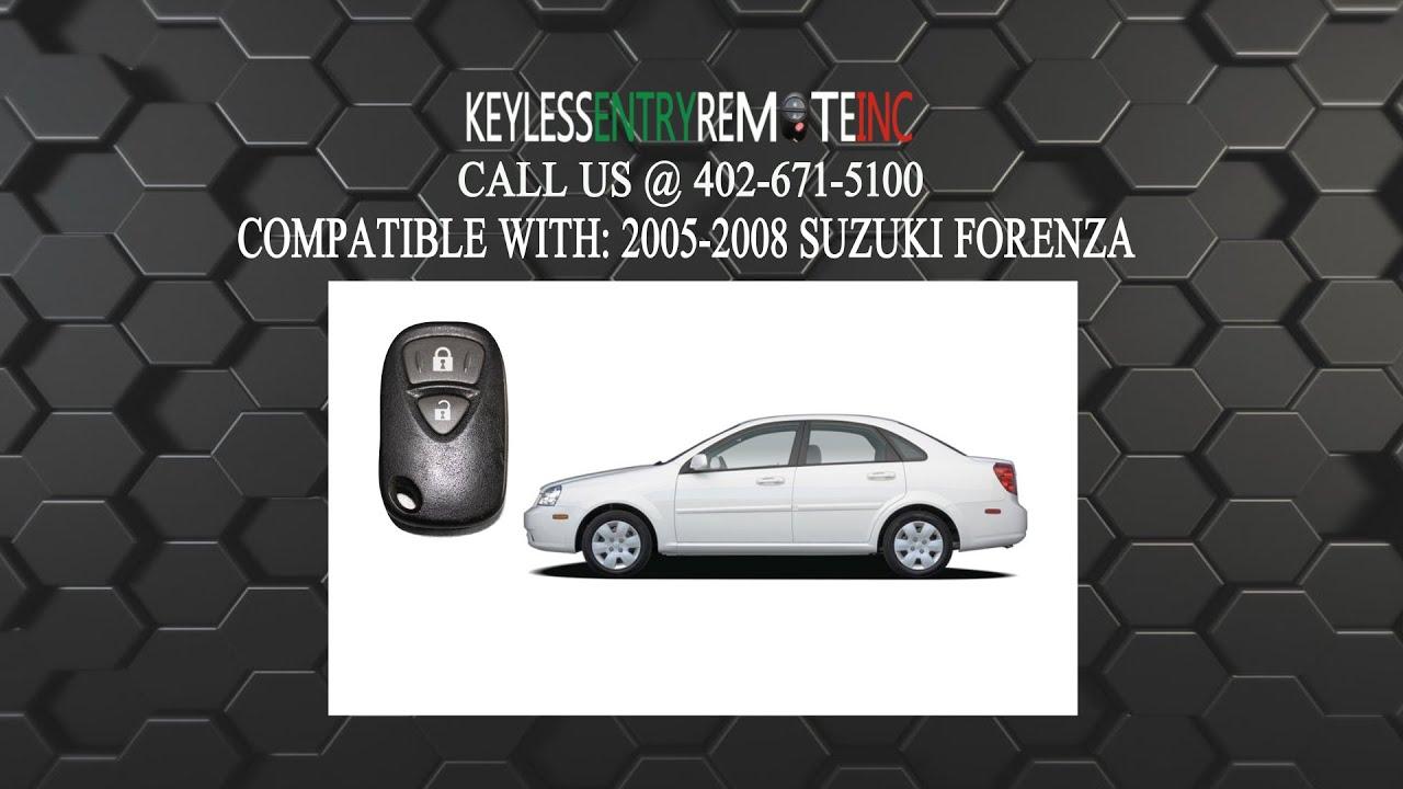 Suzuki Forenza Key