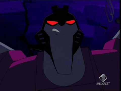 Transformers Animated - Prowl VS Lockdown