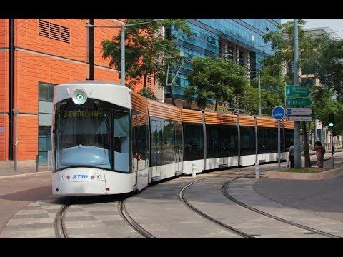Trams in France : Le Tramway de Marseille à la Joliette RTM