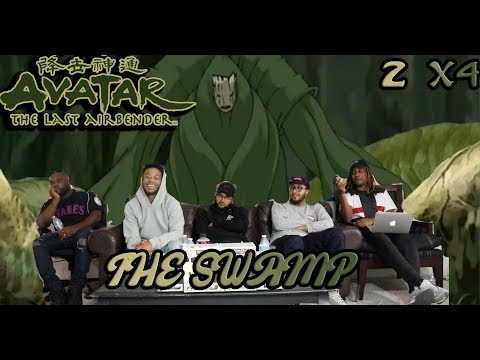 """Avatar The Last Airbender 2 X 4 """"The Swamp"""" Reaction/Review"""