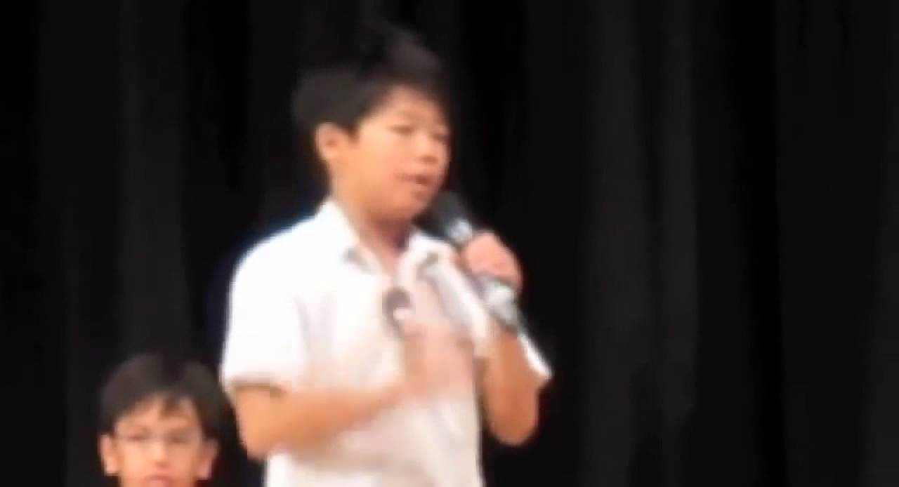 Grade 6 Student Council Winning Speech