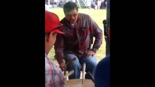 Harvey dreaver and friends red bank powwow 2014