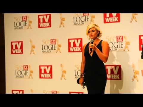 Winner's  Bonnie Sveen  The Logie Awards