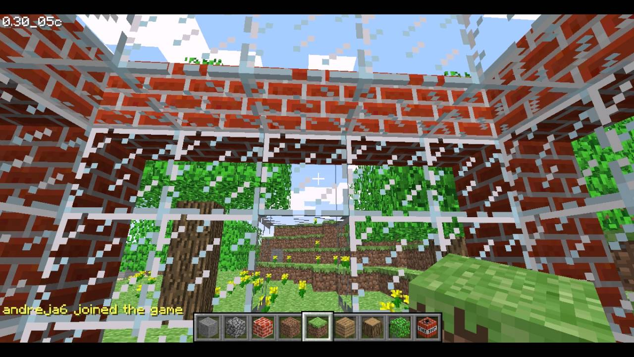 Minecraft Classic Revived multiplayer test YouTube