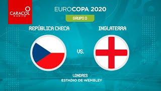 EN VIVO en el Fenómeno del Fútbol | República Checa Vs Inglaterra - Eurocopa 2020